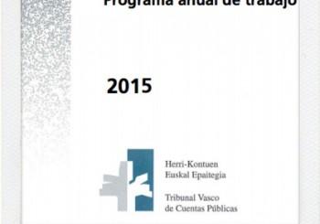 2016. urteko lan programa.
